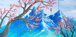 Japanese Blossoms by smoirart