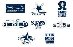 Stars Silver Logo by nicy2002