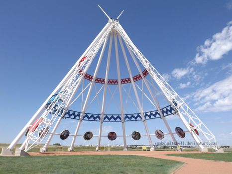 World's Largest Tipi by SmokeyMitchell