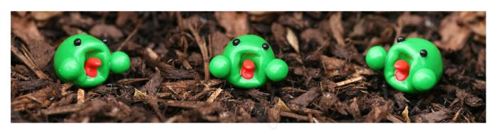 My little Polymer clay La by OMG-ImSoAwesome
