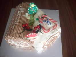Right Top Xmas Cake by bigheartedgirl