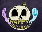 Happy Skull by Makinita