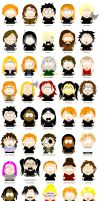 Harry Potter - South Park by Sam-x-Frank