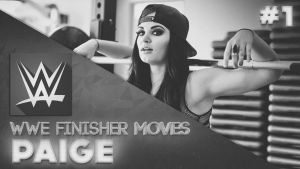 #1 WWE Finisher Moves Thumbnail - Paige by BullCrazyLight