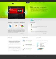 new company portfolio by aadi-f