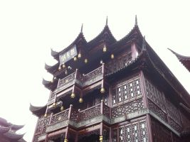 Ancient Chinese Building by joyhorse13