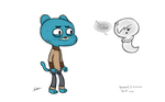 Gumball and Carrie by Kozmo-Khaotic