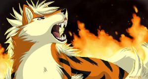 Arcanine LOL by mirzers