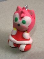 Amy Rose Keychain by ArtKing3000