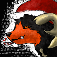 Grim should get a little bit of Christmas too by Myst-kore