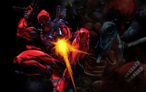 Deadpool Widescreen Wallpaper by Dukesap