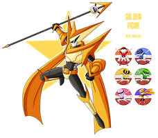 Fakemon: Secret boss - Golden Vigor by MTC-Studios