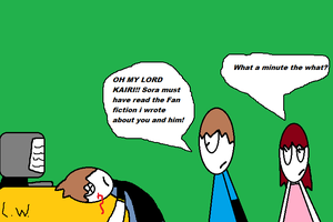 why Lenny dosnt write fan fiction by LRW0077