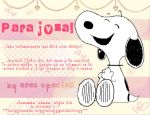 snOopy fOr jOza xD by BrenMoon