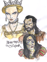 SnowWhite and the Huntsman by DemonCartoonist