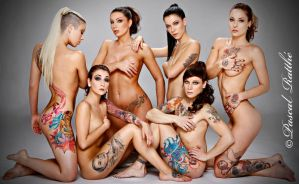 tattoed girls by keenaQC