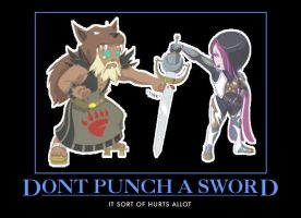 Fists and Swords by rubenimus21