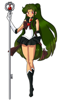 Sailor Pluto by YukiBean