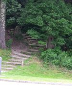 Wooded Stairs 3 by seiyastock