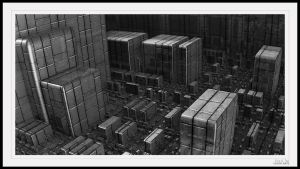 Processing Central BW by eccoarts