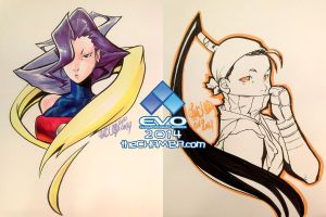 EVO 2014 - 10 - Rose + Ibuki by theCHAMBA