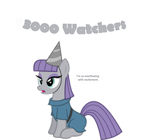 3000 Watchers! by Zacatron94