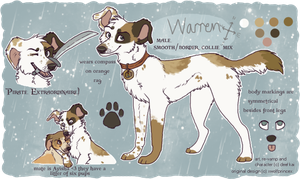 Another new ref for Mr.Warrennator by Deesney