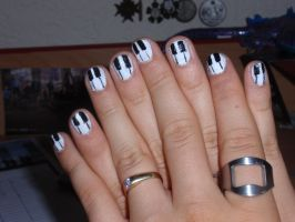 piano nails by Ninails
