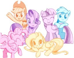 The Colors of Friendship by kencaldi