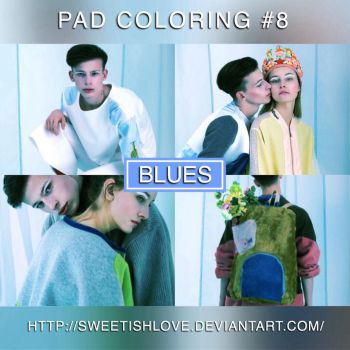 PAD Coloring #8 - Blues by Sweetishlove
