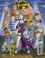 B. Jenet and the Lillien Knights by faynster