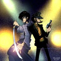 Goemon and Jigen by Dasha-KO