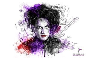 My Robert Smith portrait by Prestegui