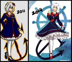 SAILOR DRESSES by SuperLazy7