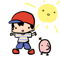 Earthbound - Ness DERP by TaterTotchi