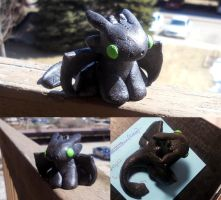 Toothless sculpture by Despereaux-7