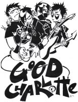 Good Charlotte, poster immy by AoiNoKitsune