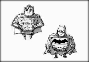 Super Friends by Hen-Hen