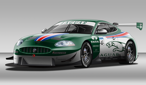 Jaguar XK GT Race Car by StylePixelStudios