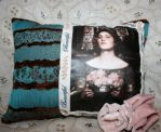 Medieval Maiden Art Pillow by mermaidencreations