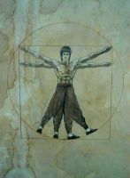 Da Bruce Vinci Lee by tonio48