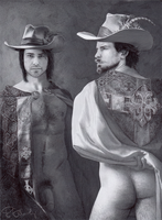 Two's Company - D'Artagnan - Aramis The Musketeers by prettymodelboy