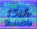 Happy Birthday DeviantArt!! by QueenoftheLions15