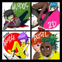 Gorillaz_02 by metroground