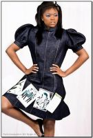 Nubian Roots Couture (on BHF online magazine) by Make-upArtist