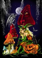 Halloween Council by vampirekingdom