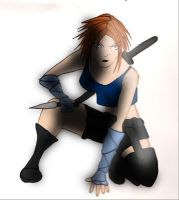 Ninja in color 3 by amelioration