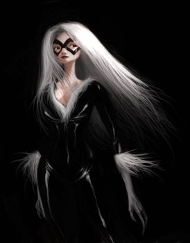 blackcat by tonysandoval