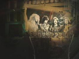 Led Zeppelin Wall by A7XASevenfoldA7X