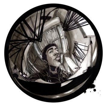 Fish Eye life drawing. by Ethereal-Mind